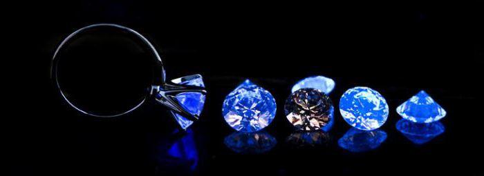 естествени сини диаманти