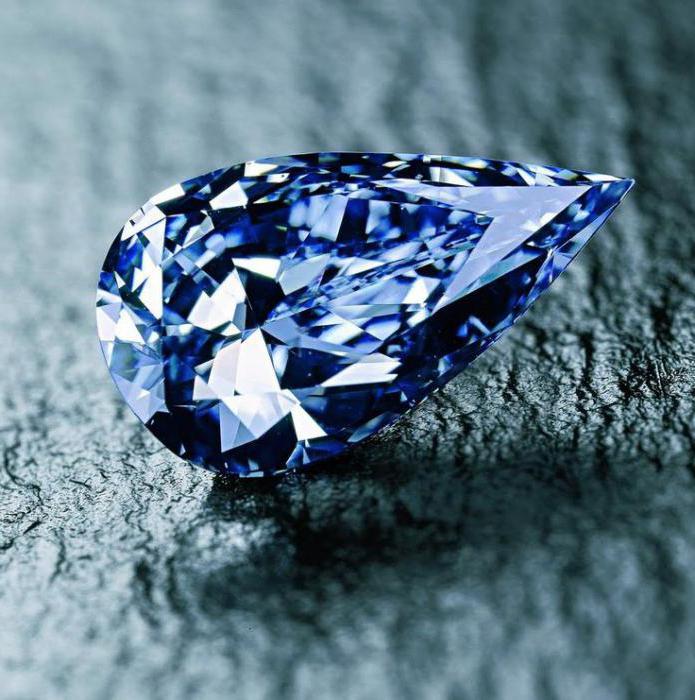 всички сини диаманти в света
