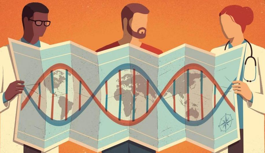 Генетички научници