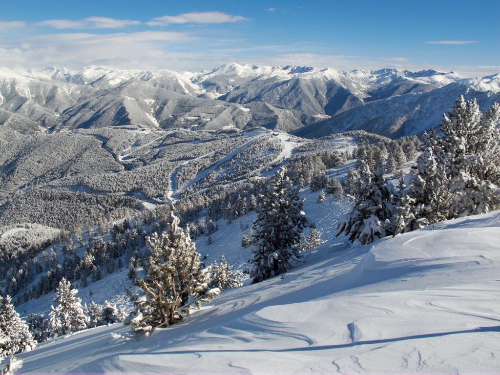 pendii montani in andorra