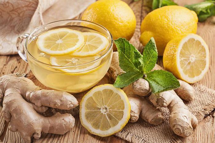 ricetta dimagrante zenzero e limone