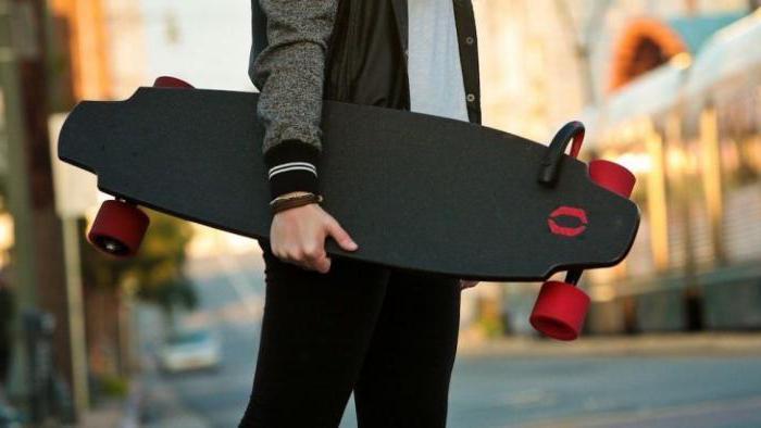 skateboard elettrico su 2 ruote come viene chiamato