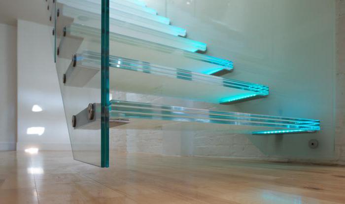 scala di vetro