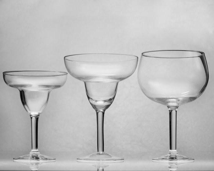 чаша за коктейли на маргарита