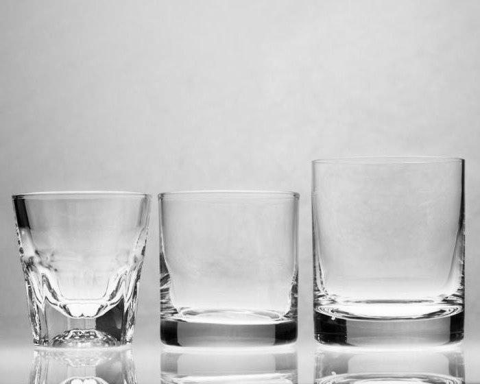 видове чаши за сервиране на коктейли