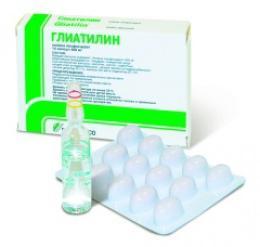 injekcije gliatilina za otroke