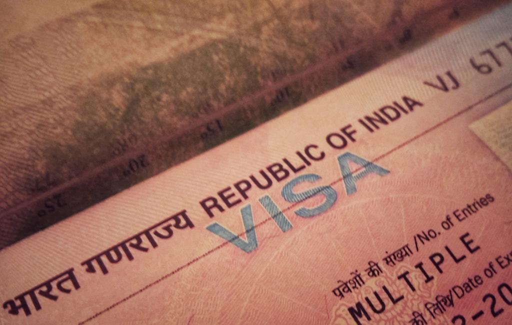 Visto turistico dell'India
