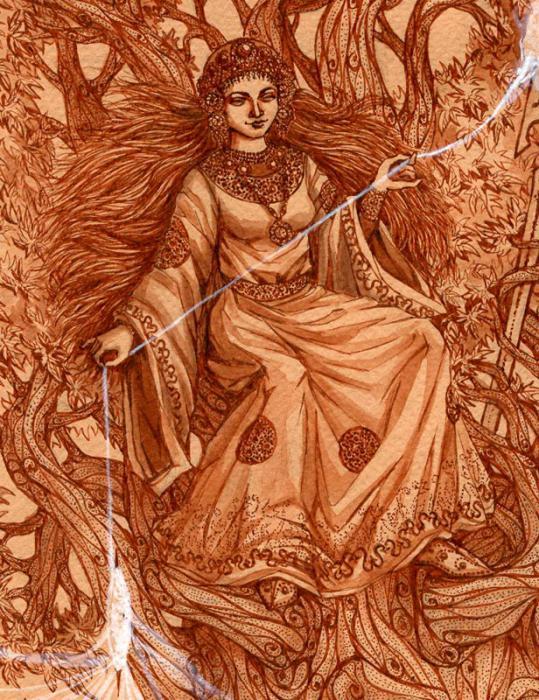 Богиња Земље Макосх