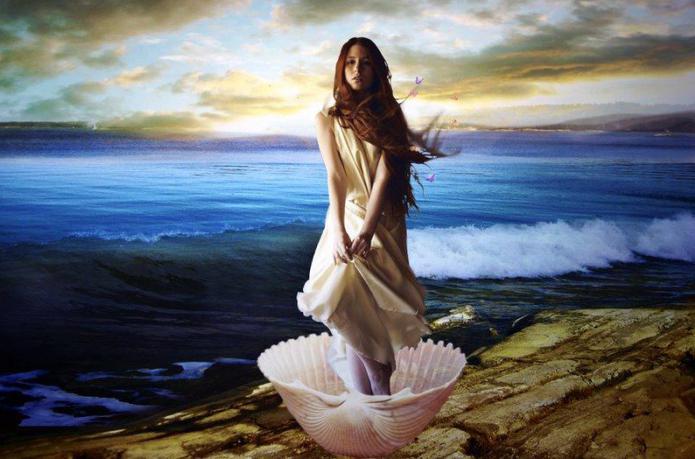 богиня на красотата и любовта