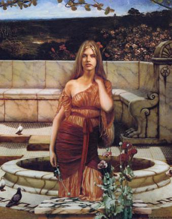 богиня на любовта в Гърция