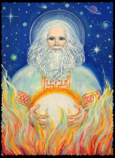 бог на огън и ковашки занаят