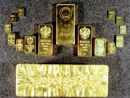 Barra d'oro Sberbank