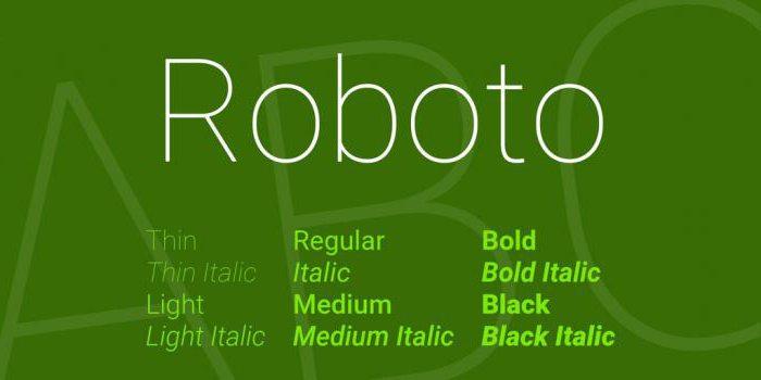 google fontove za web-lokaciju