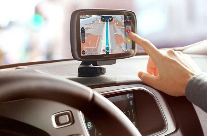 gps навигатор в колата