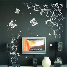 decorazione della parete della farfalla