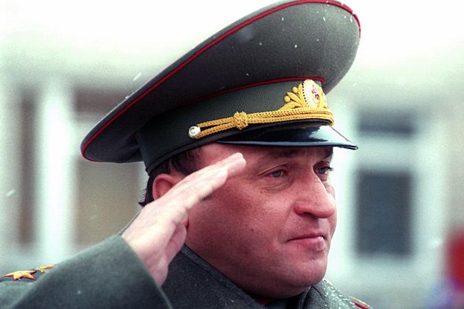 Pavel Sergeevich tijekom vojne parade