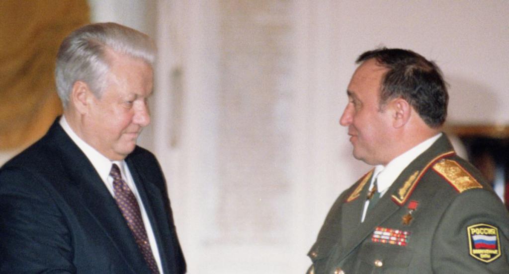 Grachev i Jeljcin