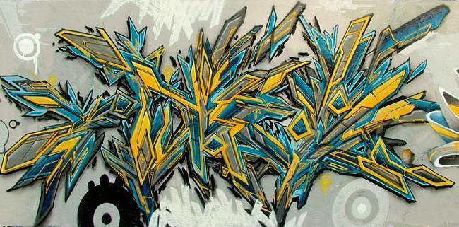 dziki styl graffiti