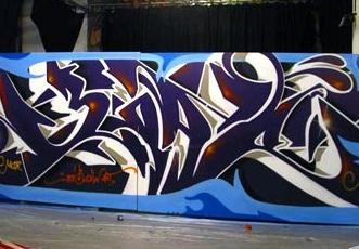 Graffiti dziki styl