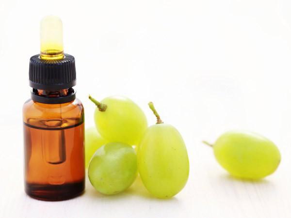 olej z nasion winogron do włosów