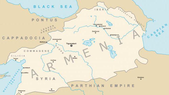 velika Armenija s velikim tigranom