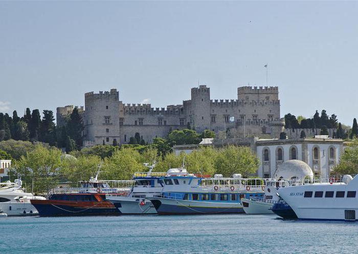 rhodes otok greece znamenitosti recenzije
