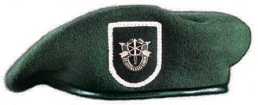 zelene beretke