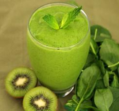 ricette di frullati verdi