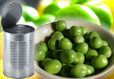 domače konzerviranje zelenega graha