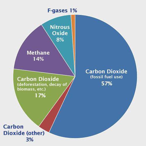 inquinamento da gas serra