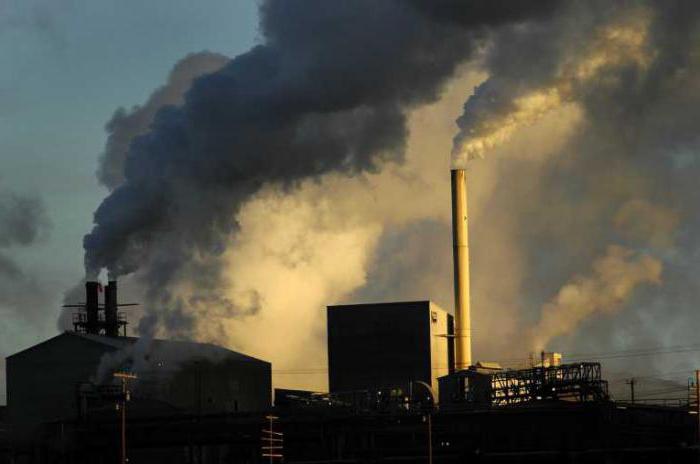 gas serra nell'atmosfera