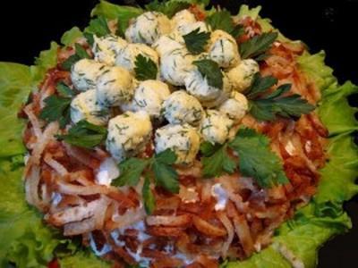 salata od gnezda