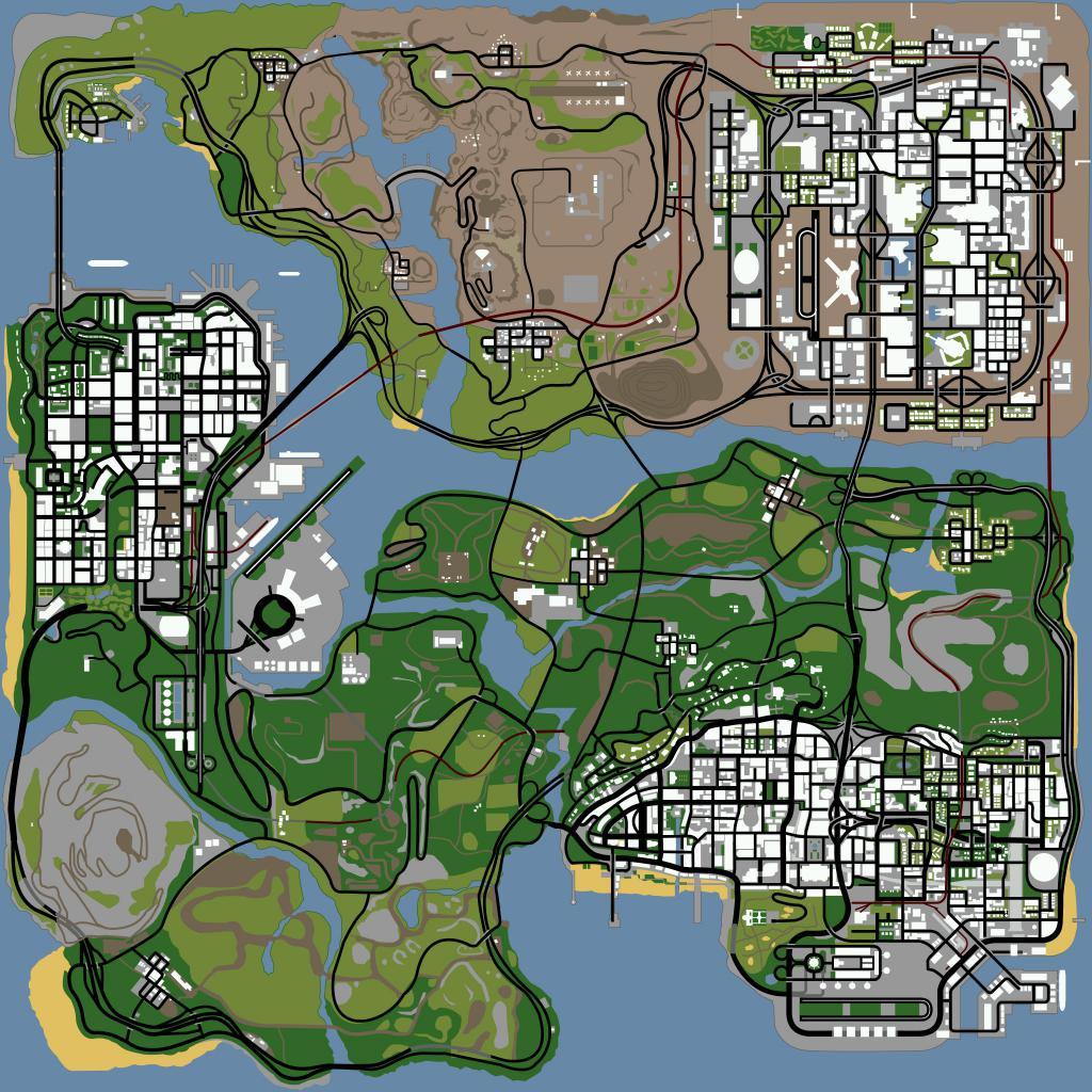 Gradovi na karti
