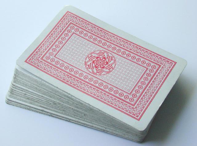 Semplice predica sulle carte da gioco