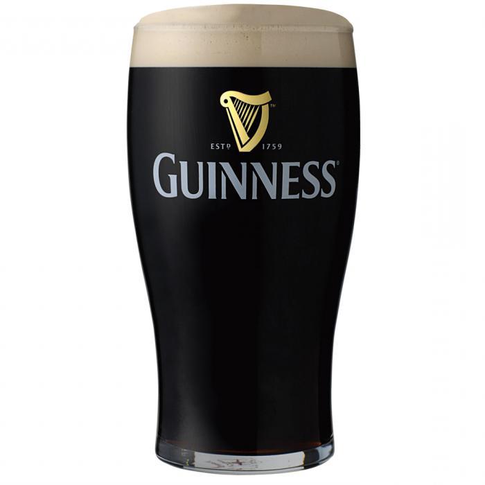 Birra irlandese Guinness