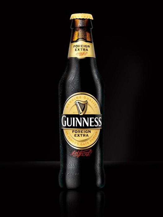 birra Guinness scura