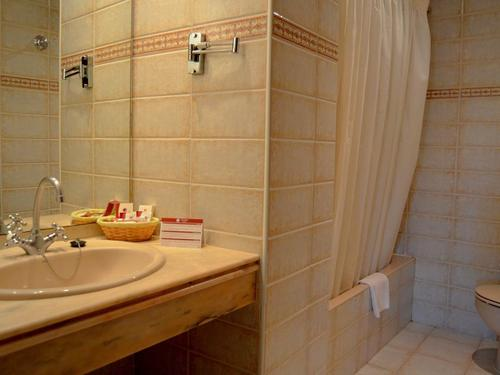 Koupelna v hotelu