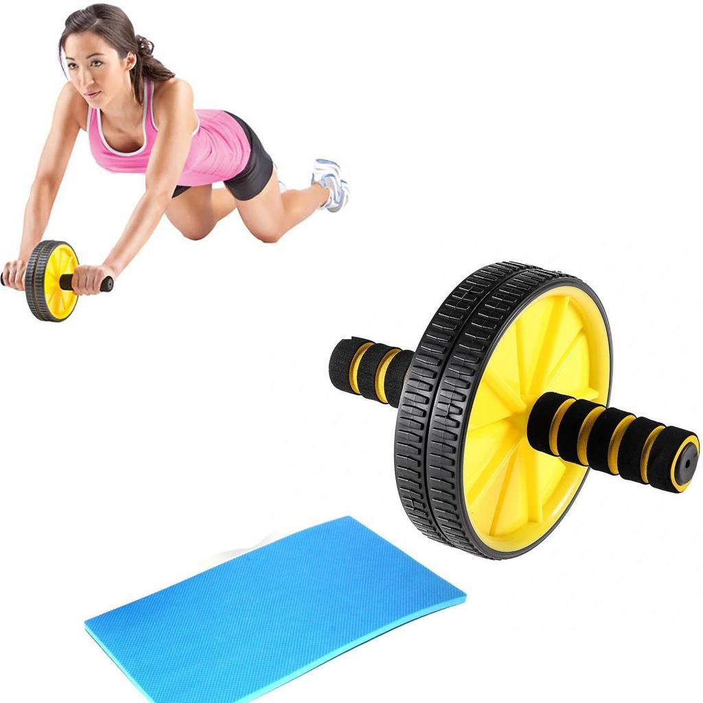 esercizi con rullo ginnico