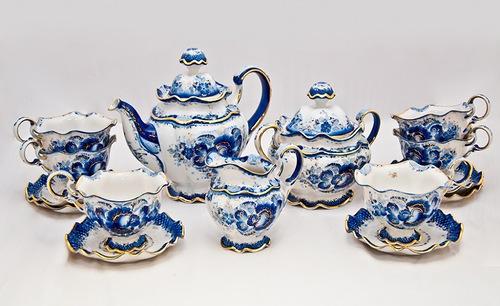 Čajni set s slikanjem
