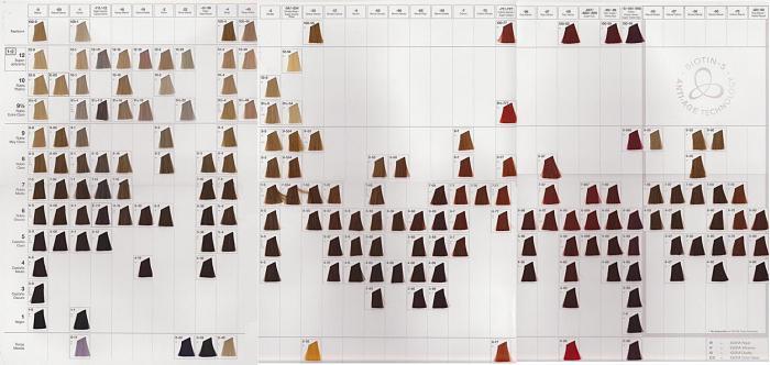 boja kose paleta boja igora