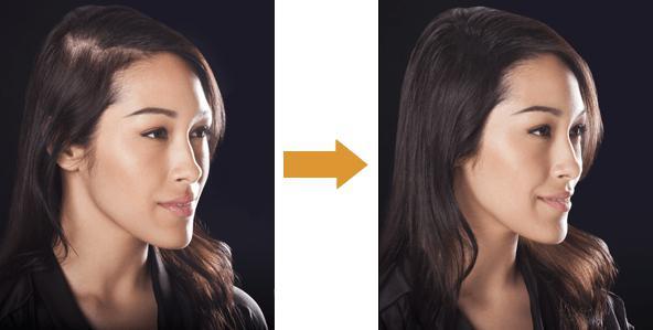 restauro dei capelli a casa
