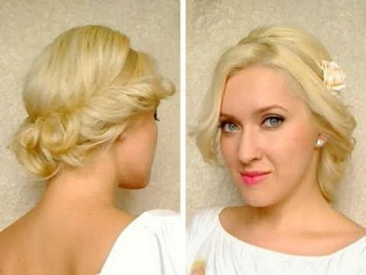 Fryzura dla średnich włosów na każdy dzień zrób to sam