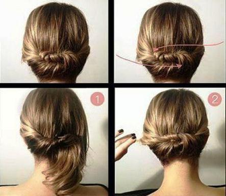 Fryzura dla średnich włosów na każde zdjęcie dnia