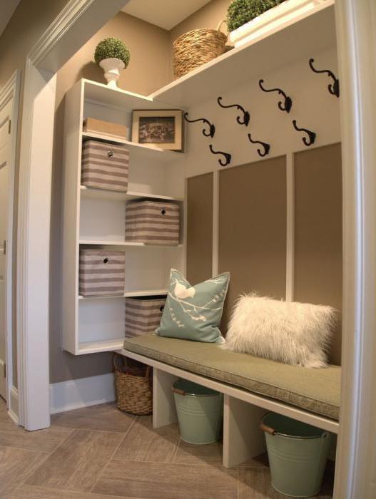 design della sala in una casa privata