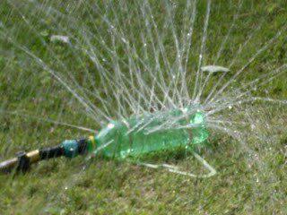 plastična boca sprinkler