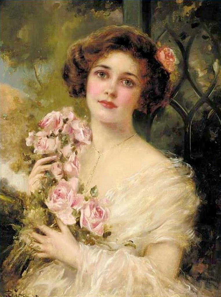 Mlada dama  Emile Vernon.