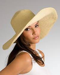 Cappello di paglia fai da te
