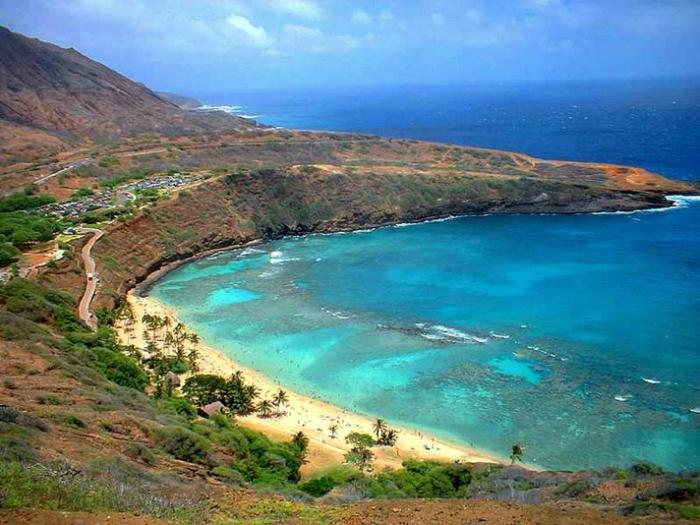hawaiian island map