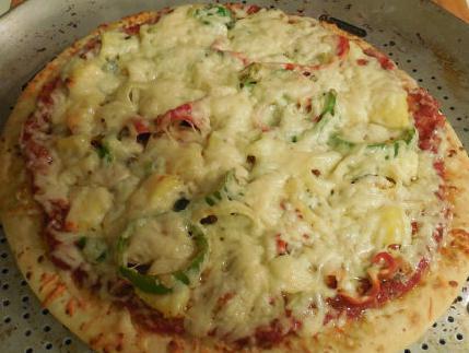 Ricetta della pizza hawaiana con pollo