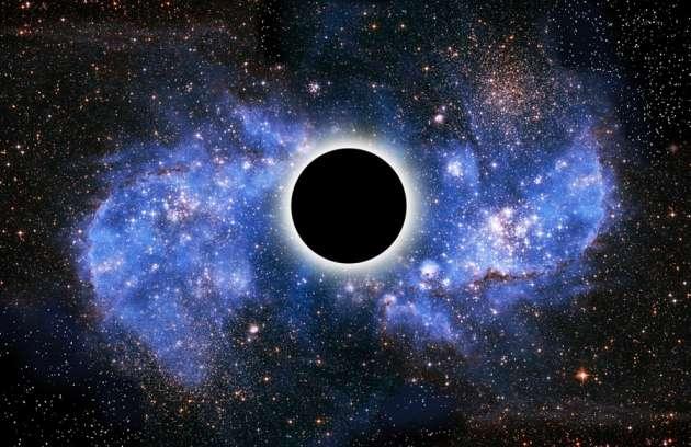 Buco nero con radiazione di Hawking